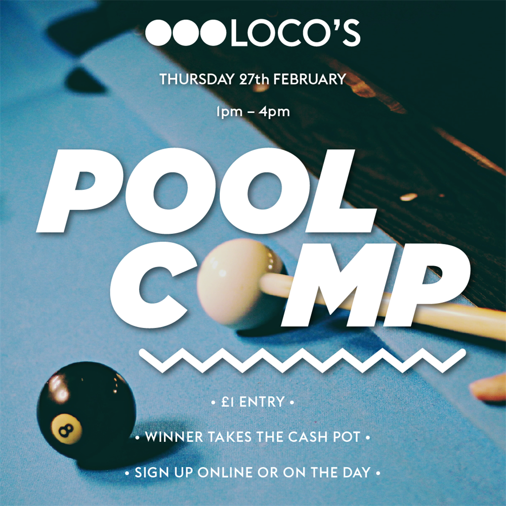 Monthly Pool Tournament (February)