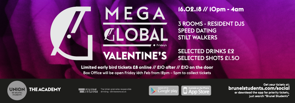 Mega Global: Valentine's