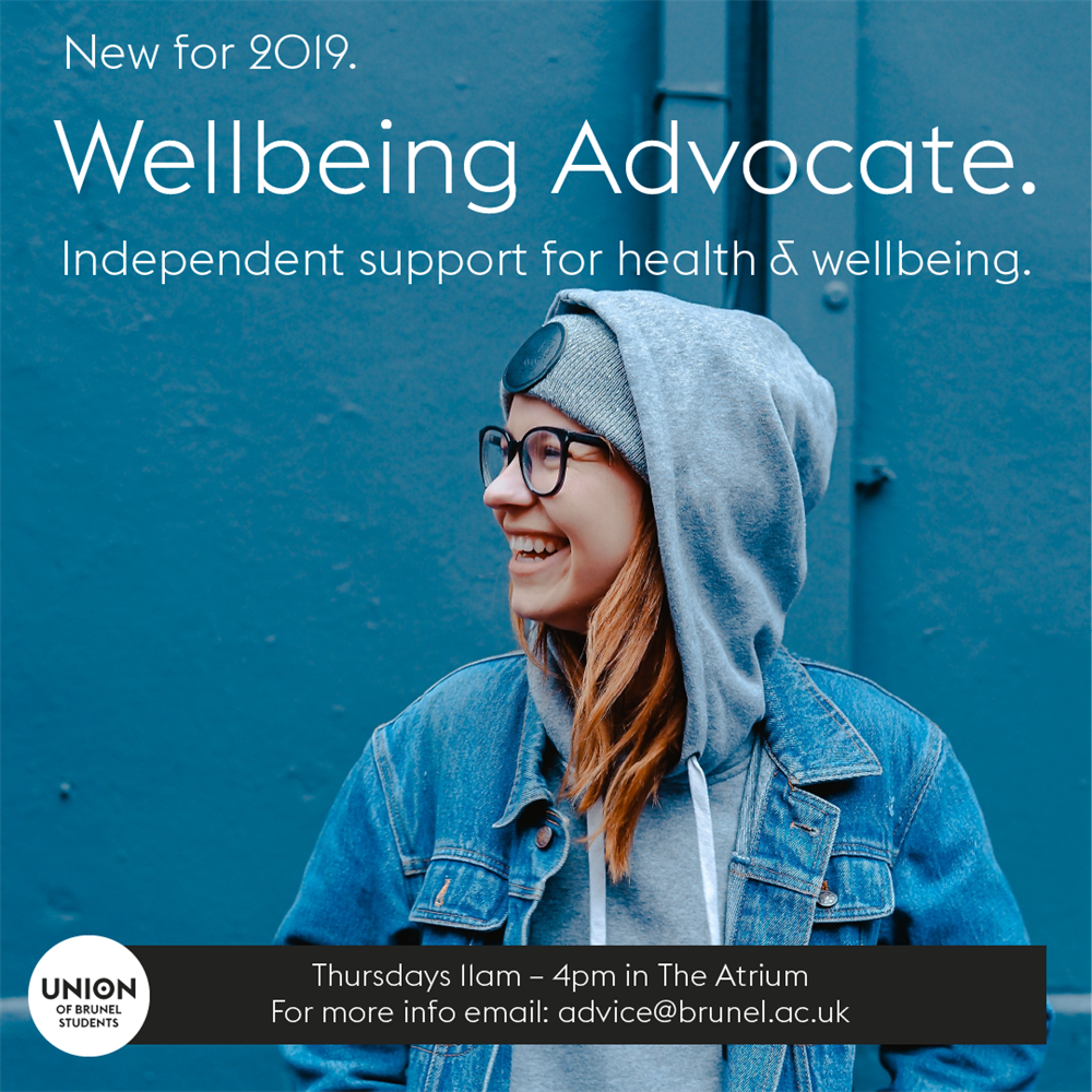 Wellbeing Advocate Drop-In