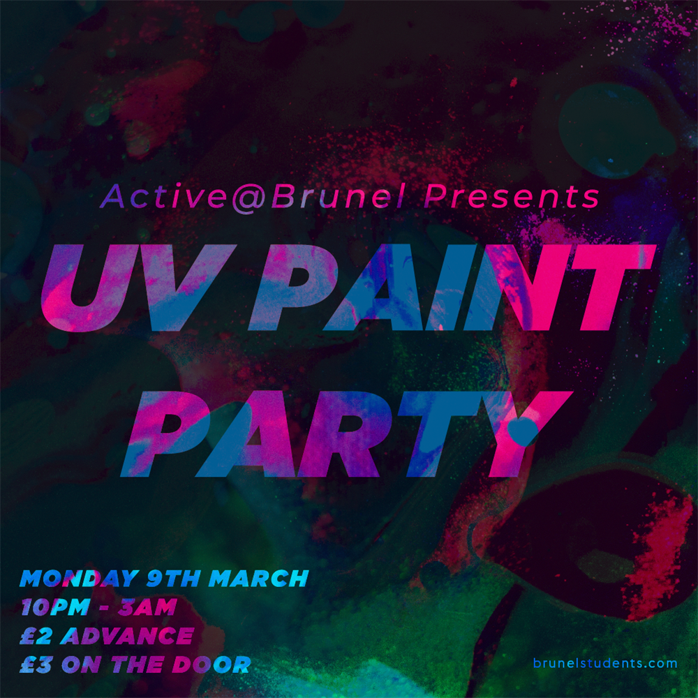 UV Paint Party