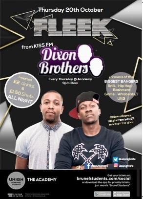 Fleek : The Dixon Brothers (Kiss FM)
