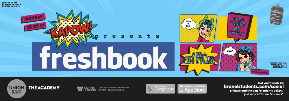 Kapow Presents Freshbook