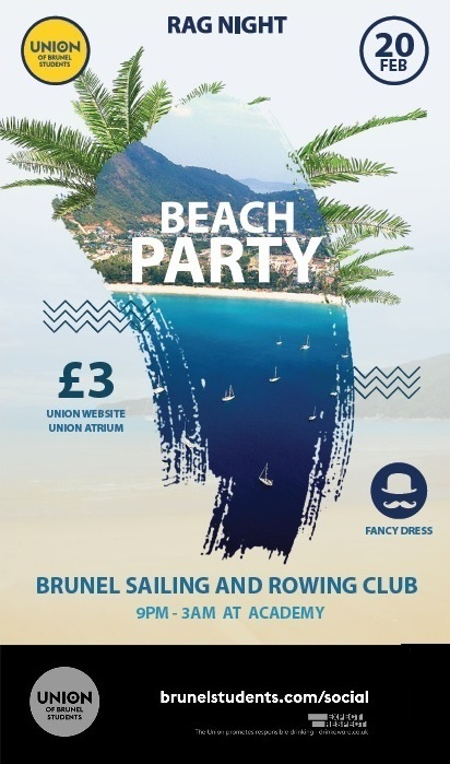 Sailing & Rowing Club : Beach Party