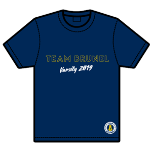 Image for 2019 T-shirt only blue medium