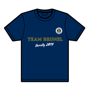 Image for 2019 T-shirt only blue large