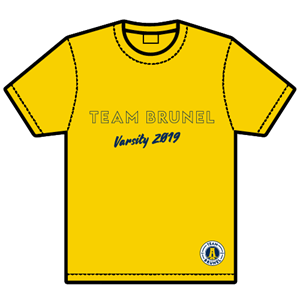 Image for 2019 T-shirt only yellow extra large