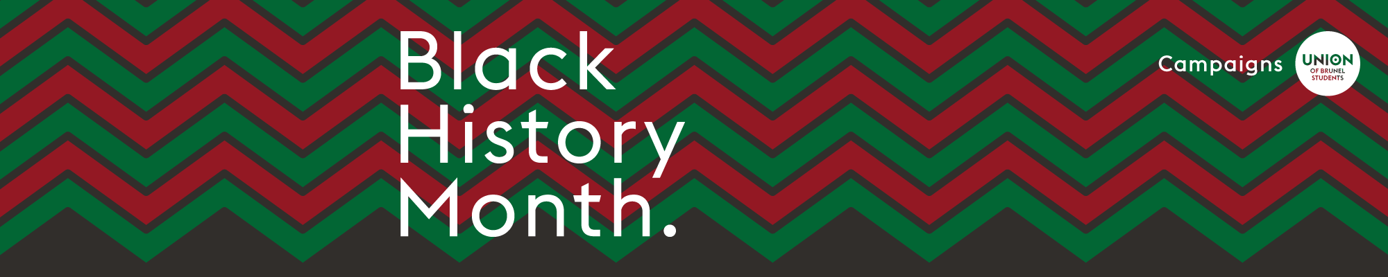Black History Month 2020 Banner