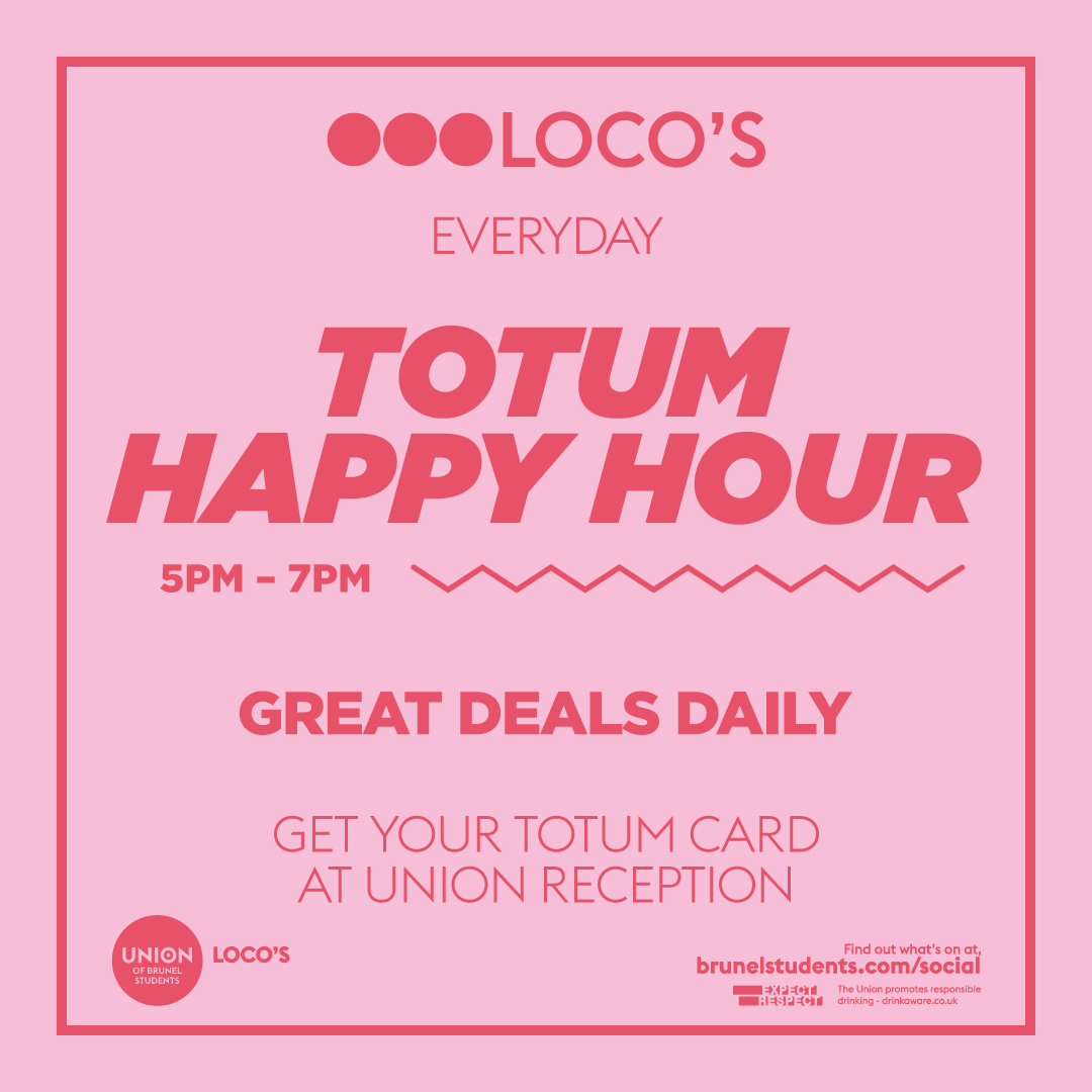 totum happy hour